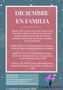 Actividades en Familia para diciembre en FamiliarMente