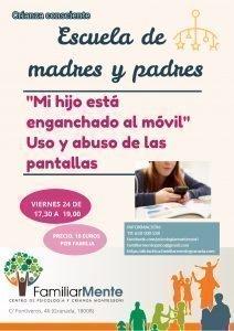Escuela de Padres: Uso y abuso de las pantallas