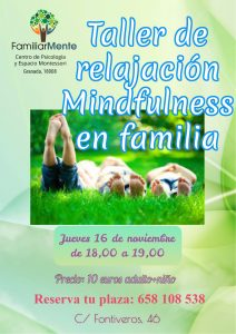 Taller de mindfulness en familia