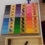 Montessori en mayores: Caja de matices