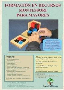RECURSOS MONTESSORI PARA MAYORES 4º EDICION