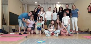 Madres y padres del taller de Mindful Parenting
